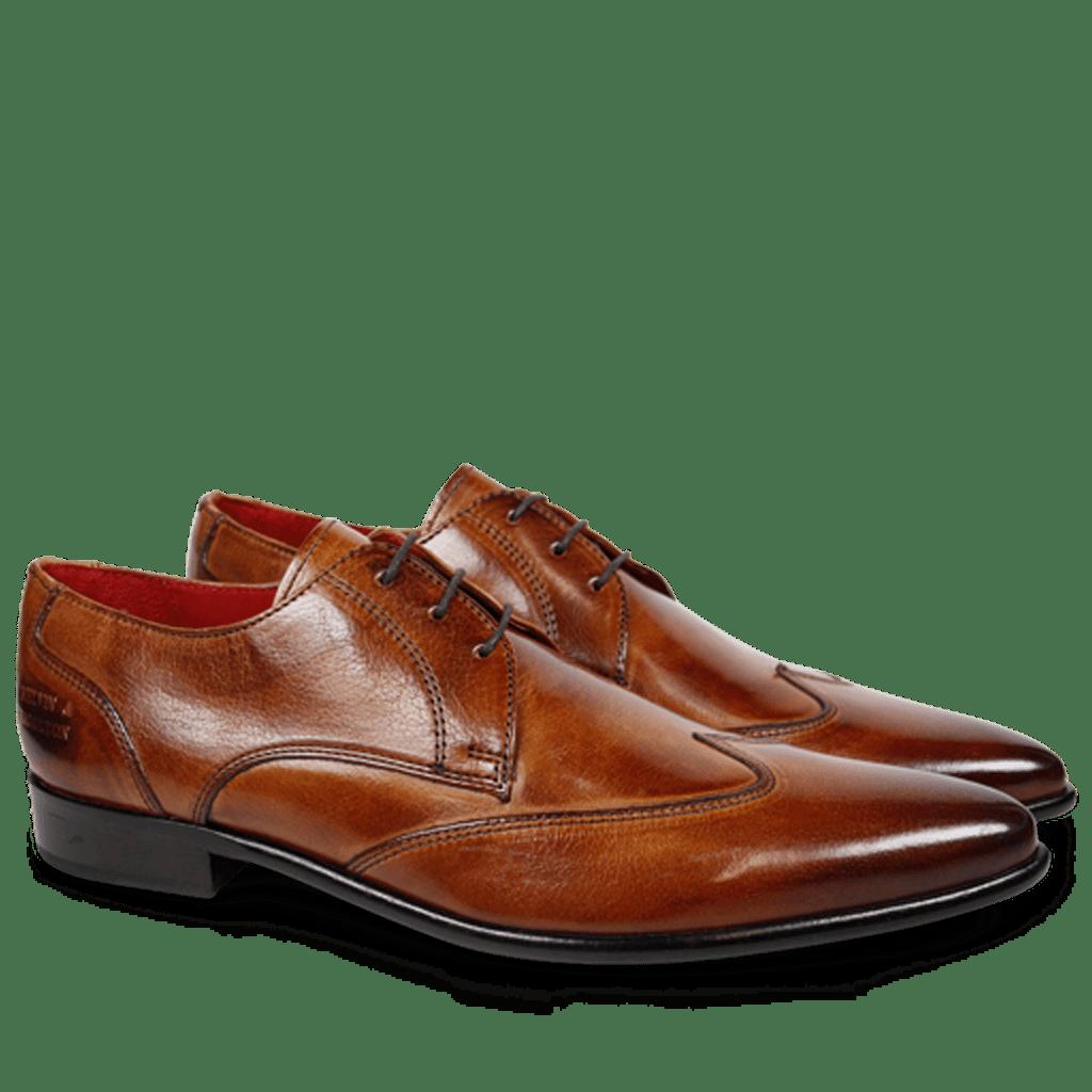 Derby Schuhe Toni 2 Forum Light Tan LS