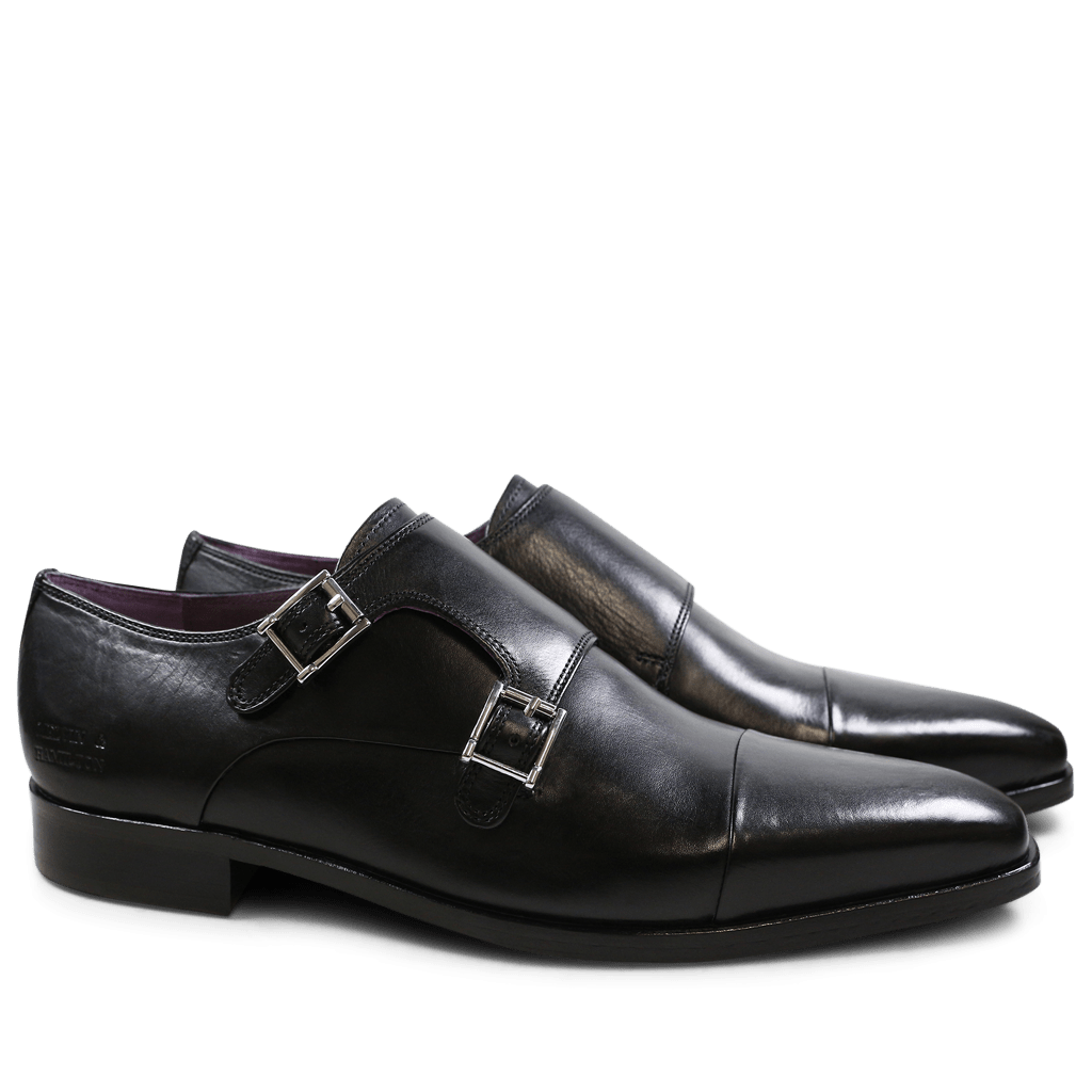 Monk Schuhe Lance 1 Black HRS