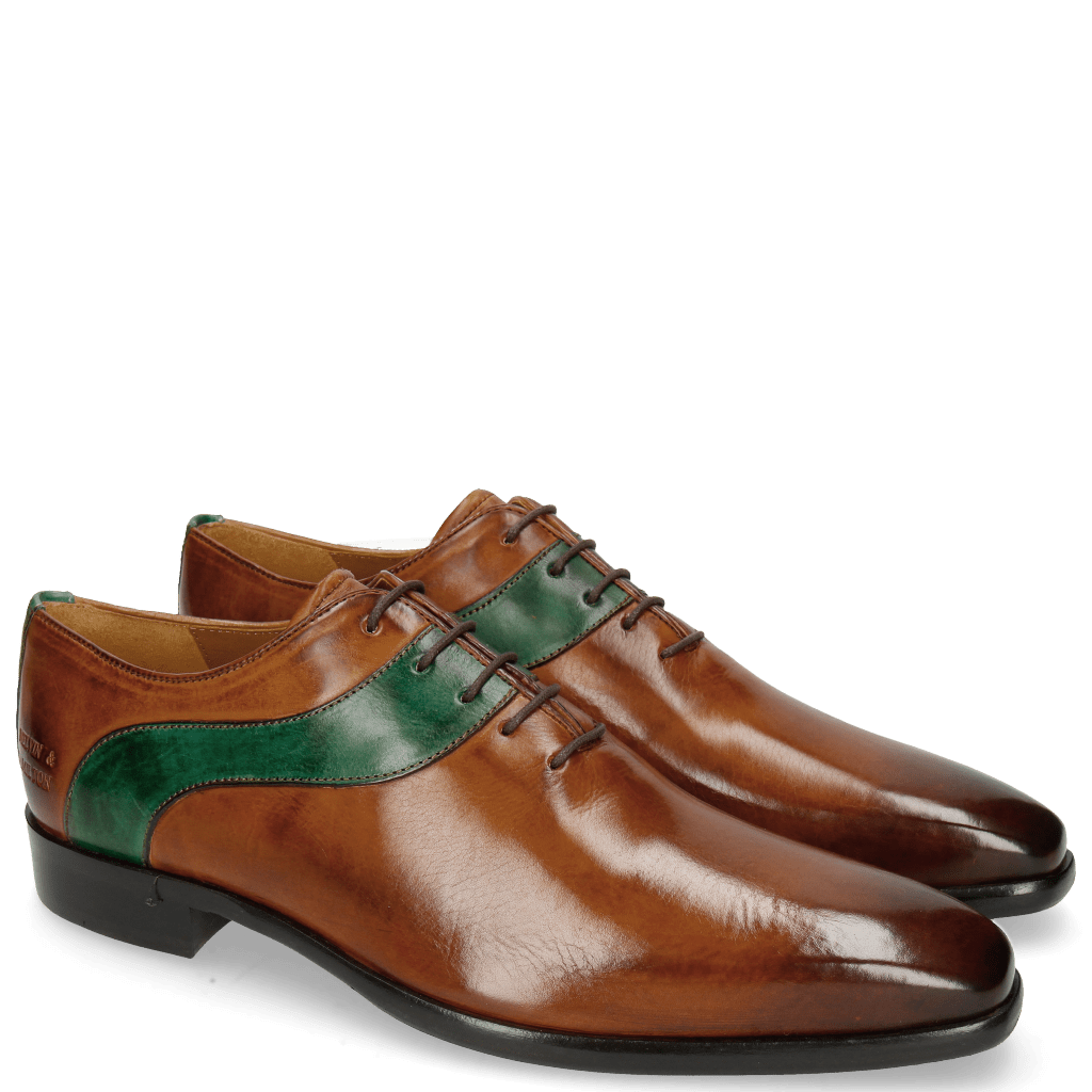 Oxford Schuhe Lance 43 Wood Pine