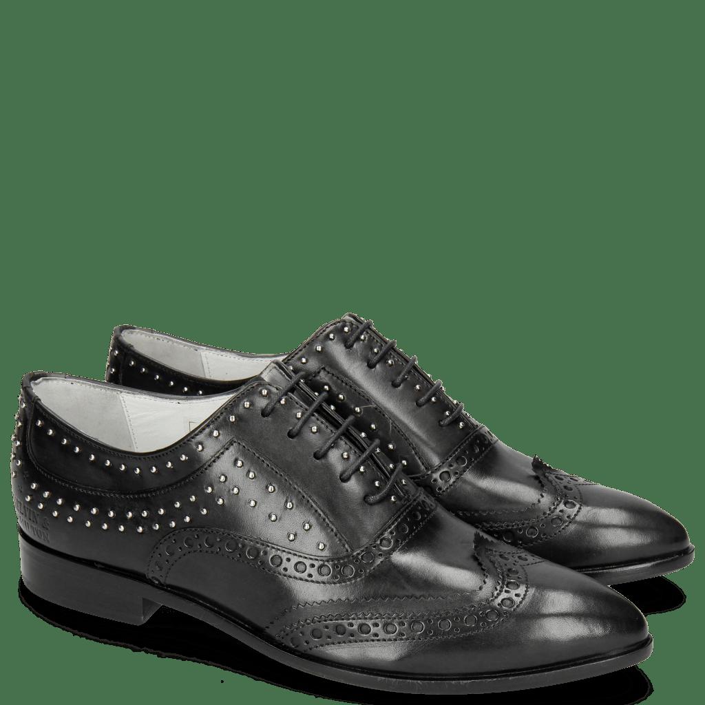 Oxford Schuhe Jessy 44 Black