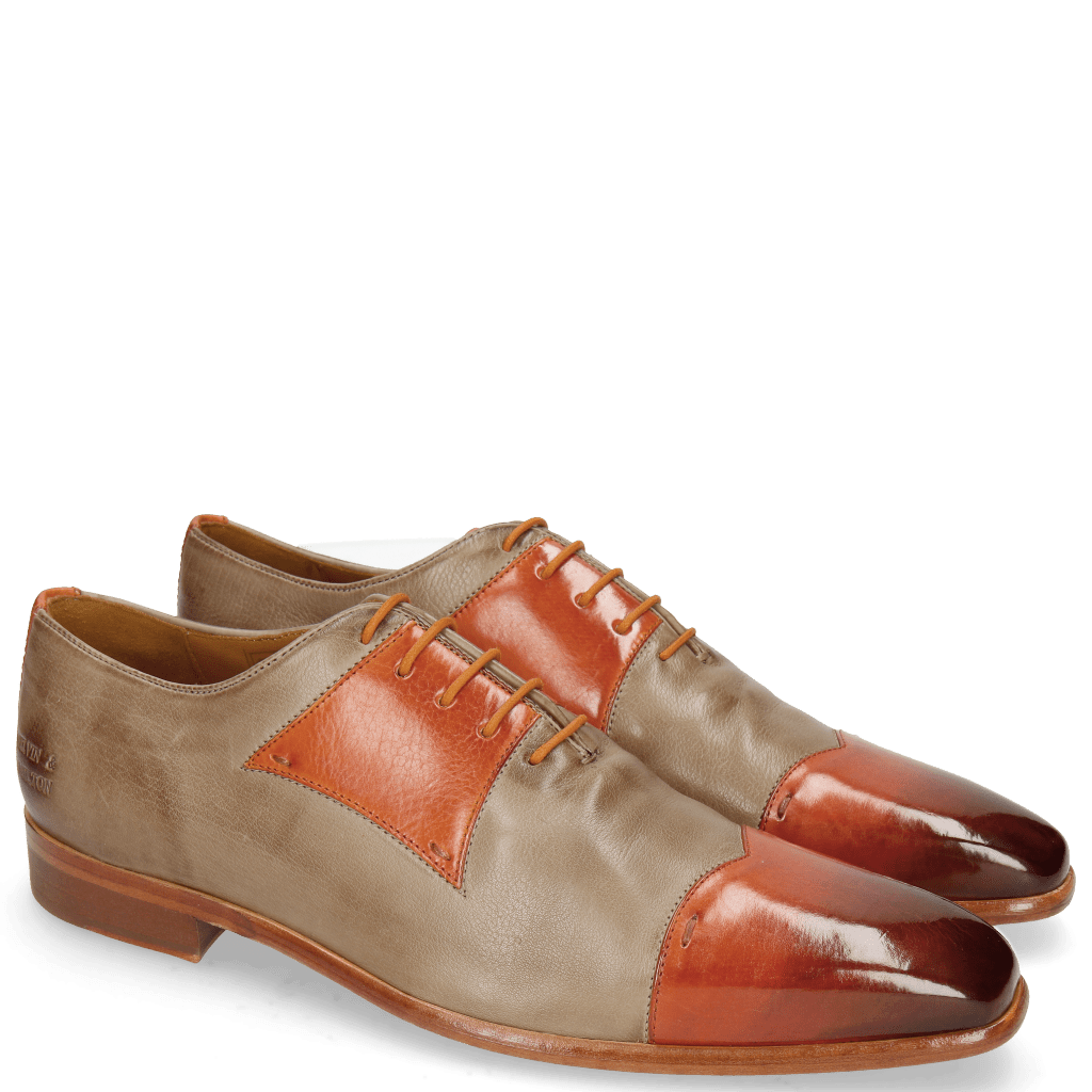 Oxford Schuhe Lance 50 Winter Orange Pavia Grey