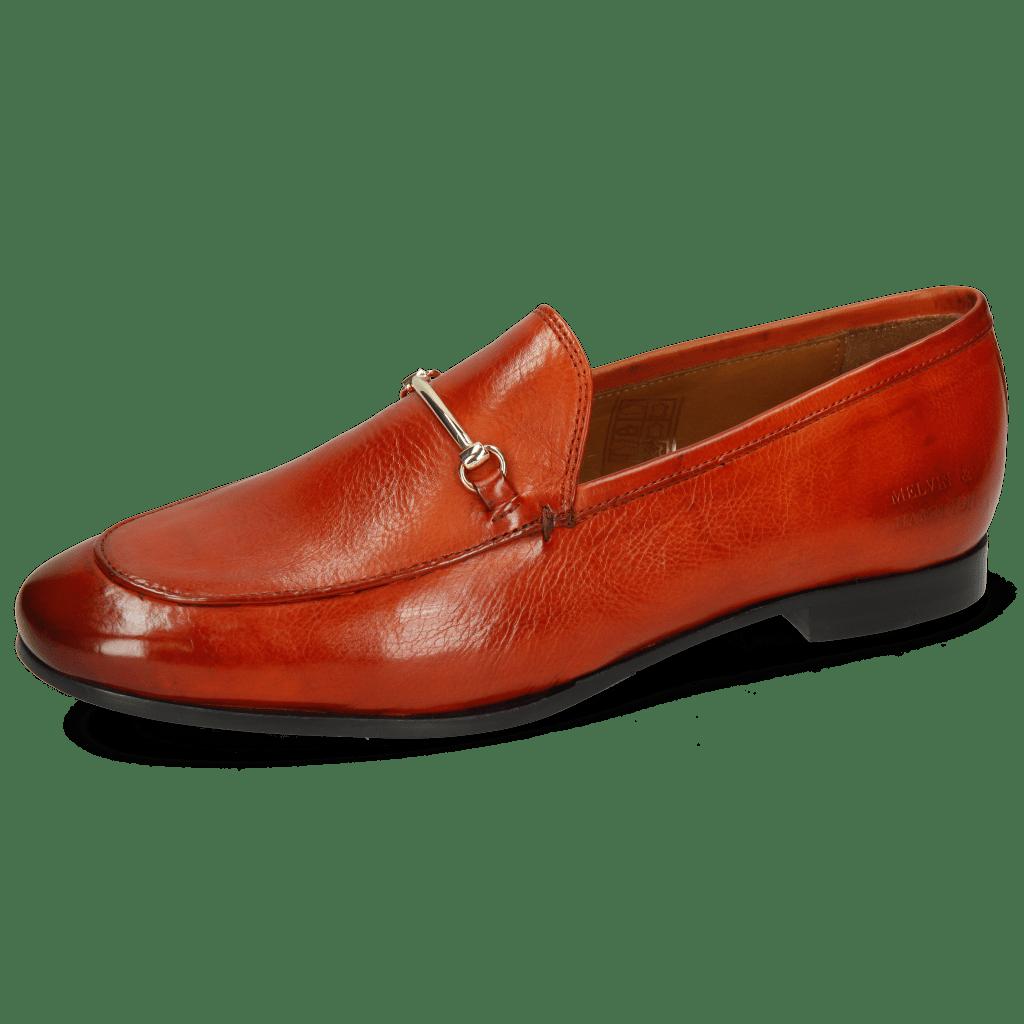 Loafers Scarlett 22 Pisa Winter Orange Trim Gold