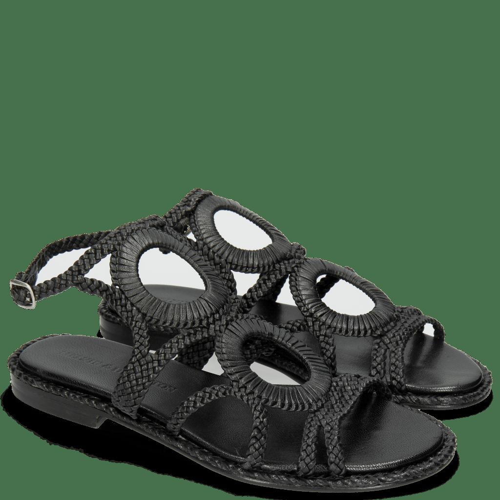 Sandalen Sandra 44 Mignon Black
