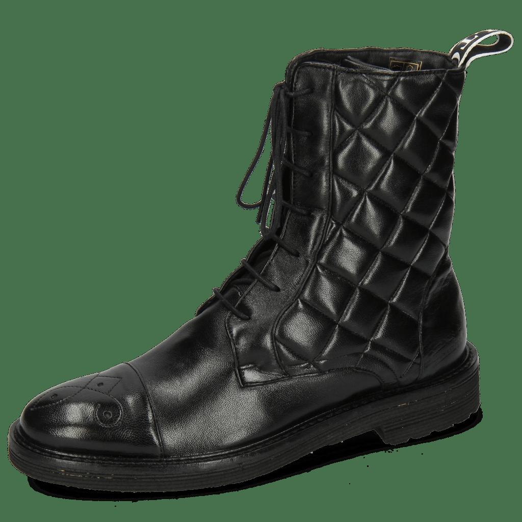 Stiefel Amelie 90 French Nappa Black