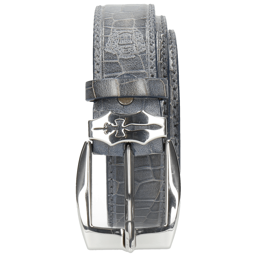 Gürtel Larry 1 Crock Moroccan Blue Sword Buckle