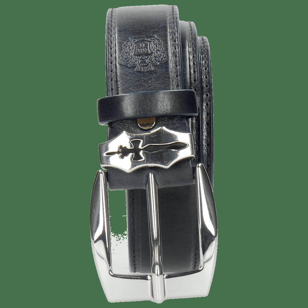 Gürtel Larry 1 Navy Sword Buckle