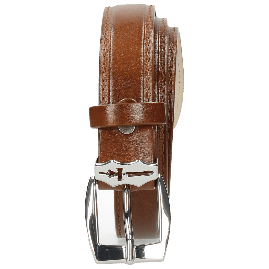 Gürtel Linda 1 Mid Brown Sword Buckle