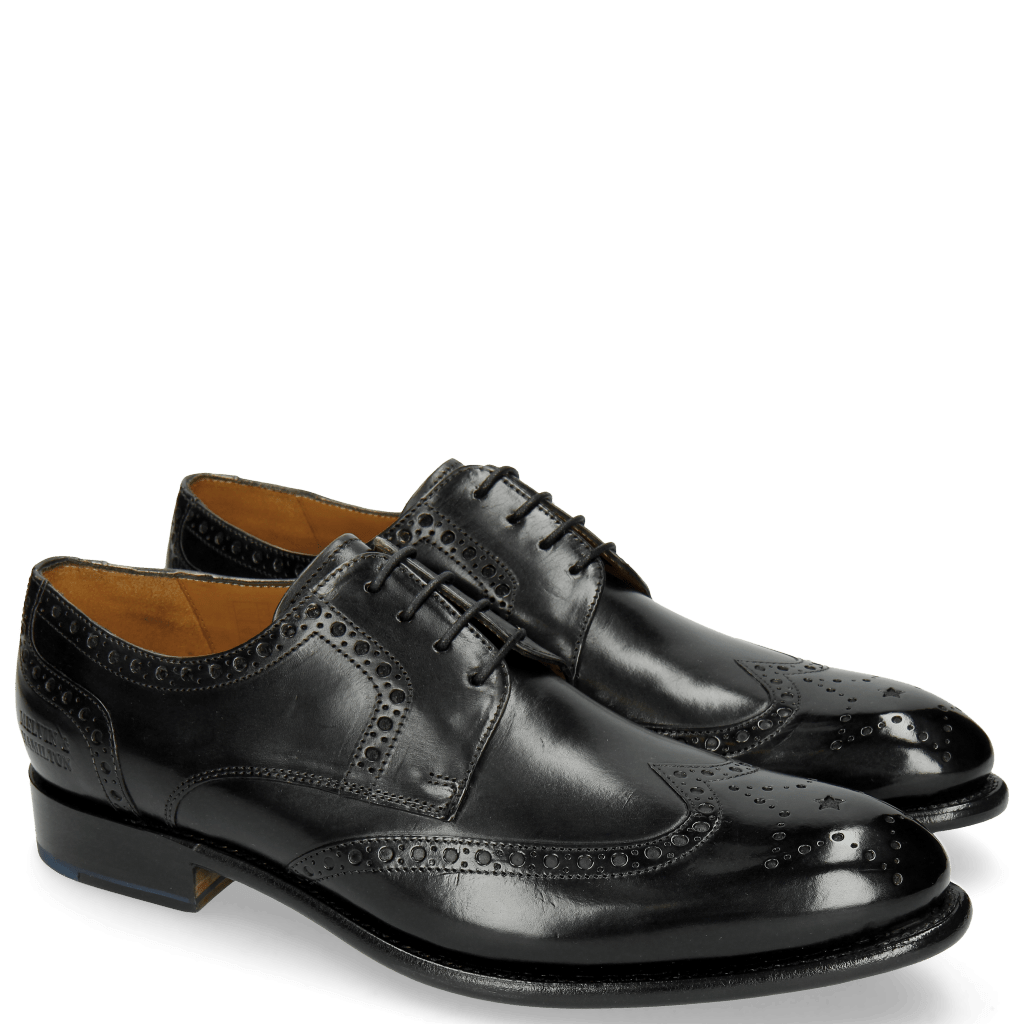 Derby Schuhe Lionel 4 Black