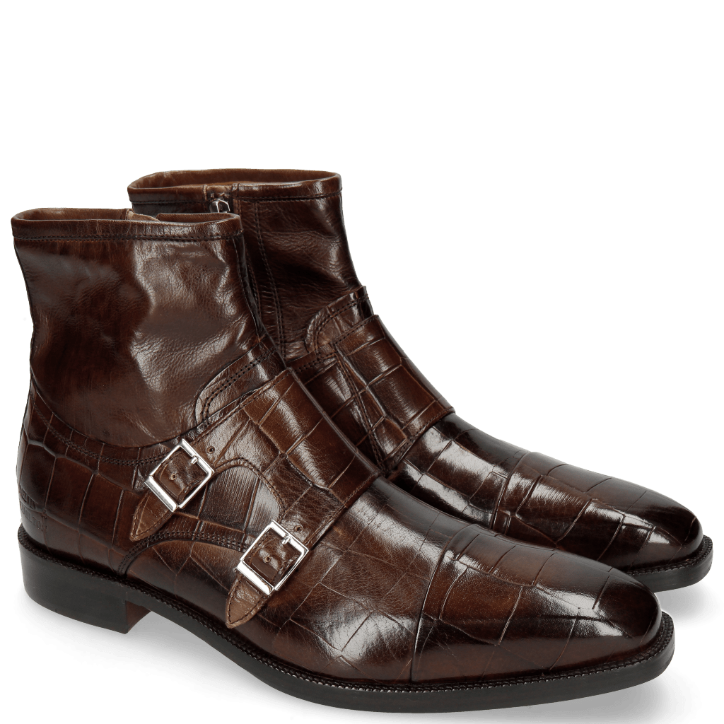 Stiefeletten Jeff 33 Turtle Dark Brown