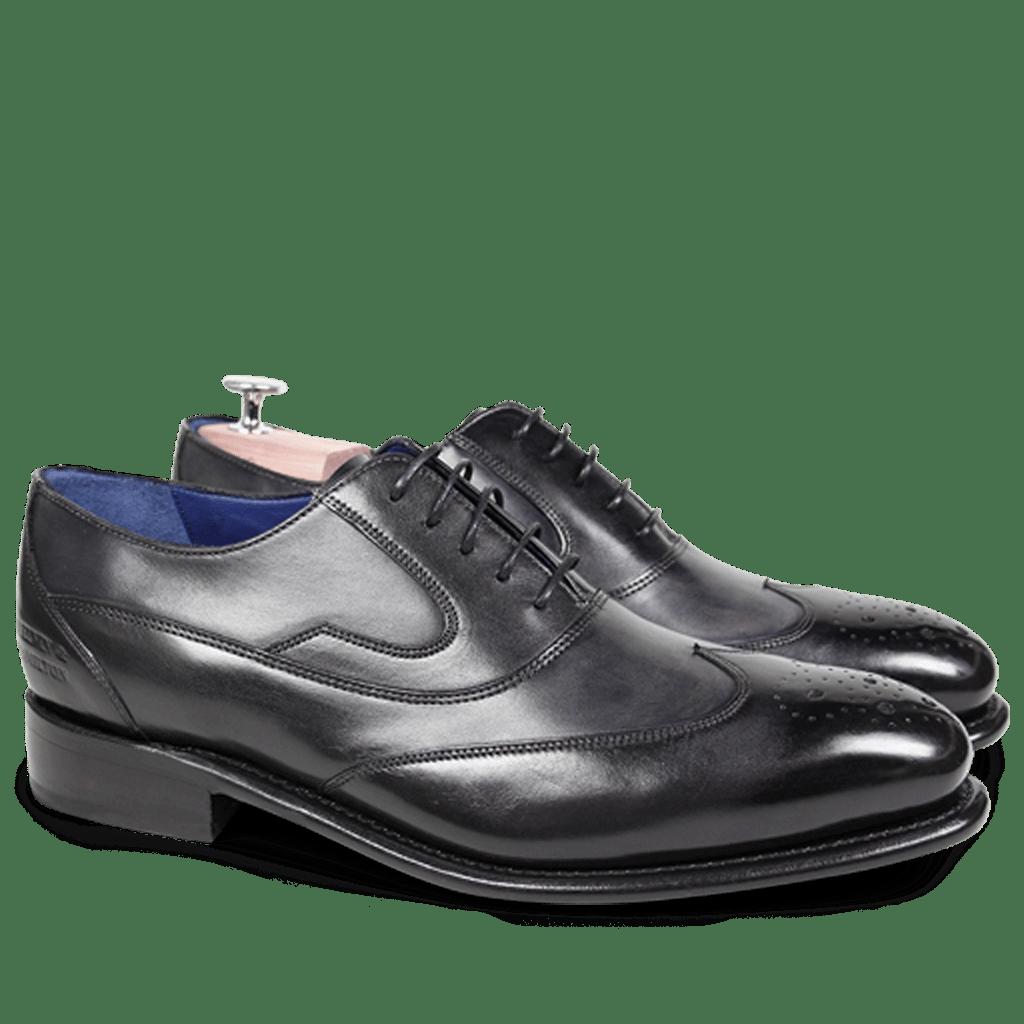 Oxford Schuhe Charles 8 Crust Black LS