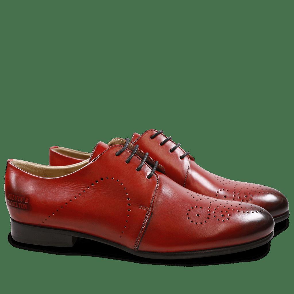 Derby Schuhe Sally 1 Crust Rich Red HRS