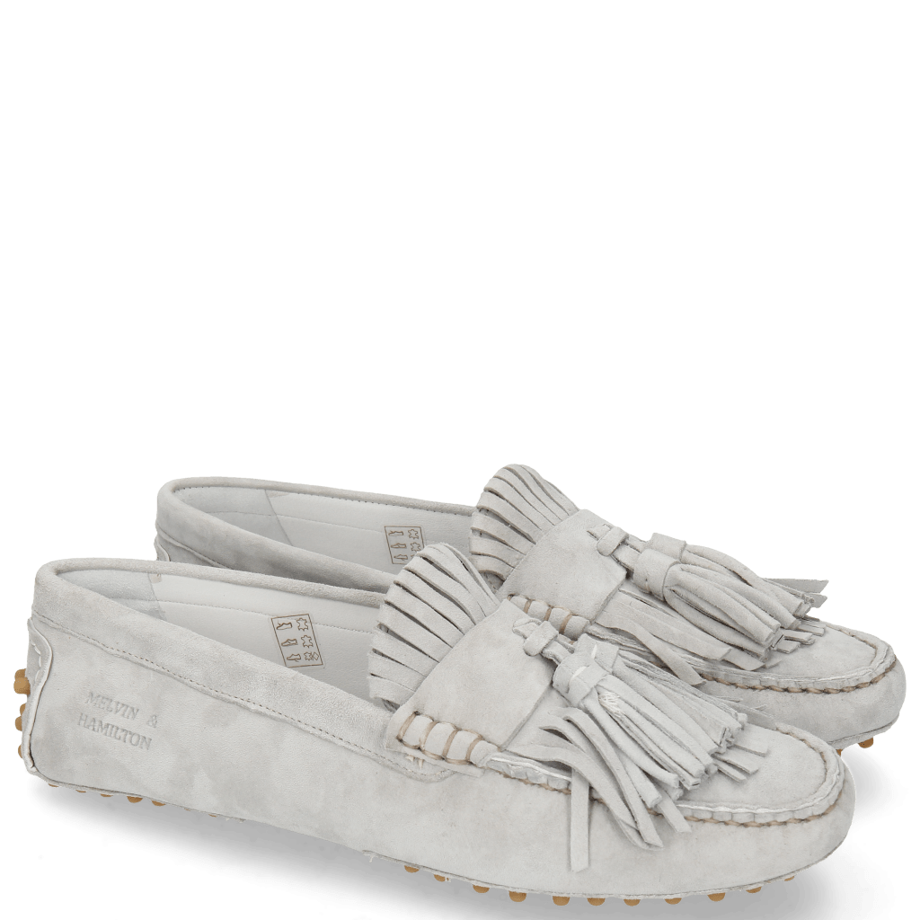 Loafers Caroline 2 Parma Suede French Grey