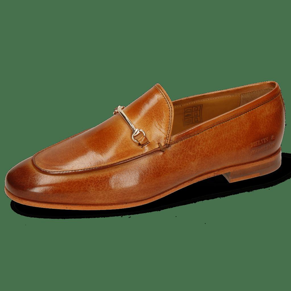Loafers Scarlett 1 Venice Tan Trim Gold