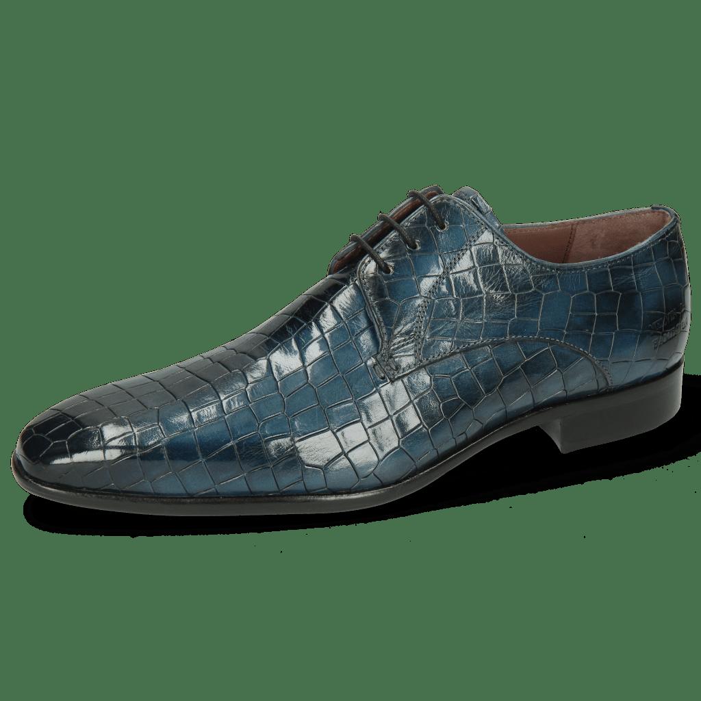 Derby Schuhe Lance 8 Crock Ice Lake Lining Purple