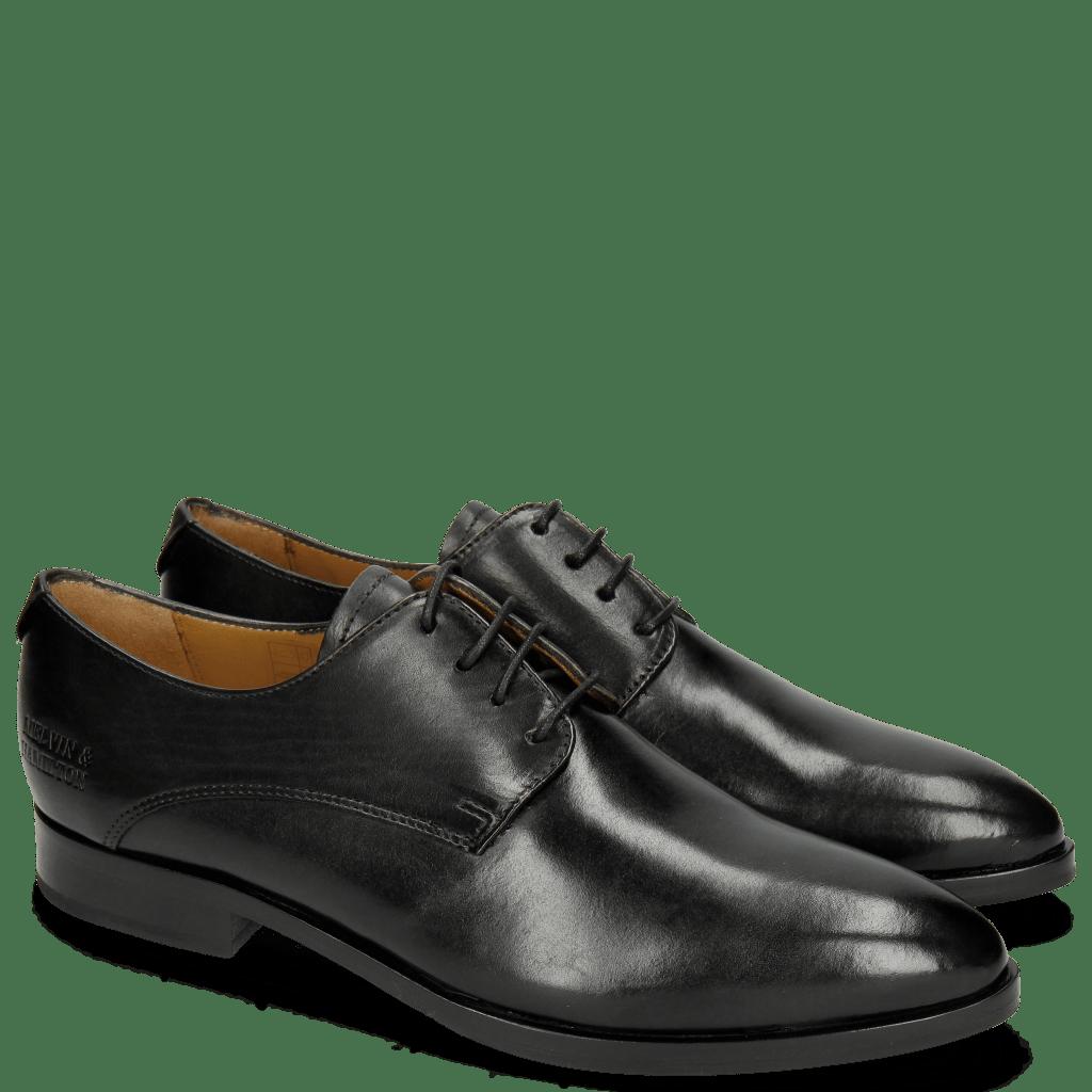 Derby Schuhe Jessy 5 Black HRS Black