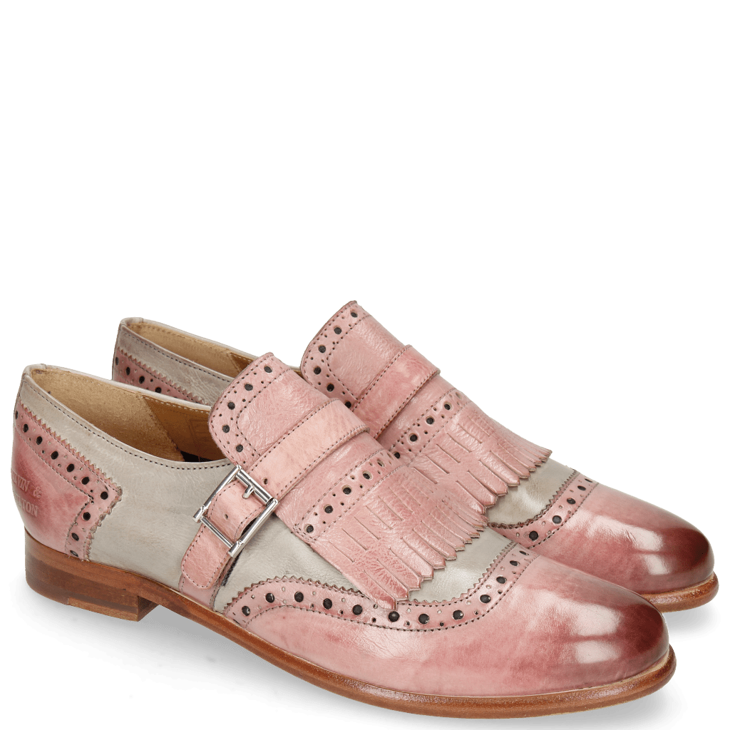 Monk Schuhe Selina 2 Pisa Skin Digital Strap Skin