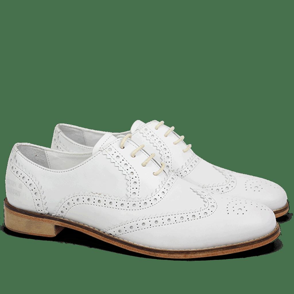 Oxford Schuhe Ella 12 Powder White LS