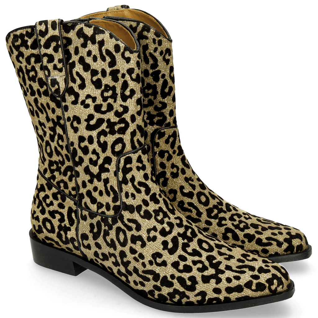 Stiefel Marlin 31 Leo Glitter Gold