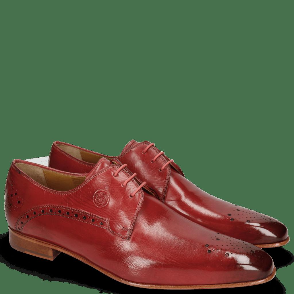 Derby Schuhe Kris 2  Ruby