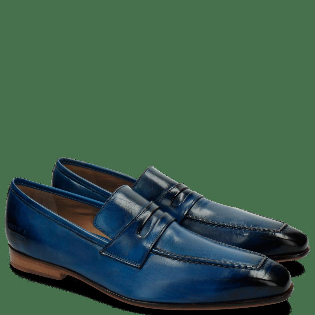 Loafers Lance 25 A Pop Blue LS Natural