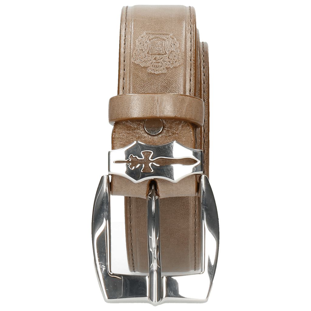 Gürtel Larry 1 Light Grey Sword Buckle
