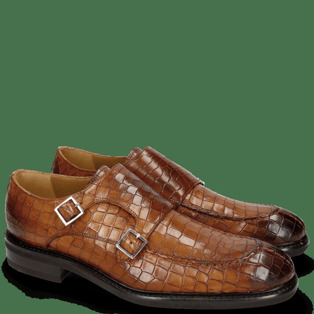 Monk Schuhe Parker 2 Crock Wood