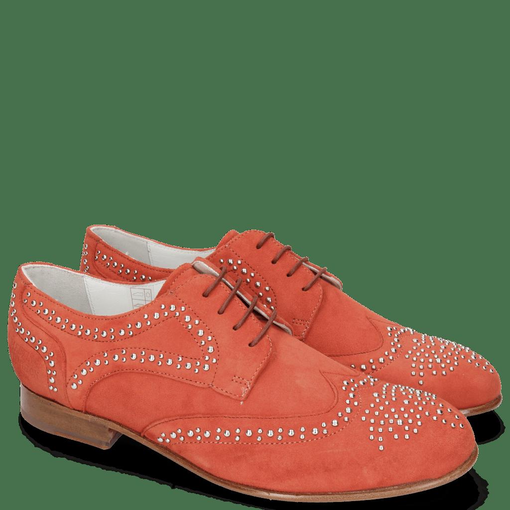 Derby Schuhe Sally 53  Parma Suede Tibet