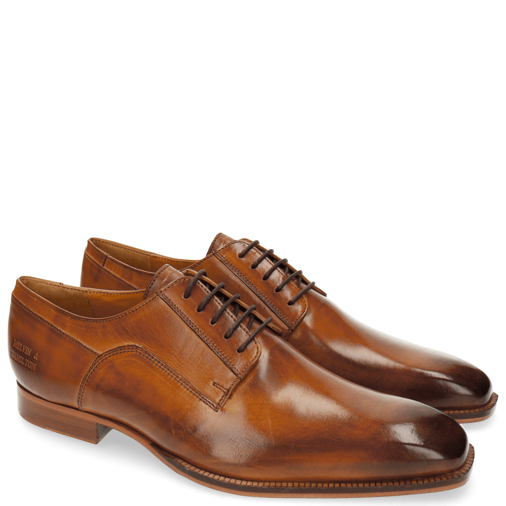 Derby Schuhe Woody 1 Crust Tan LS Natural
