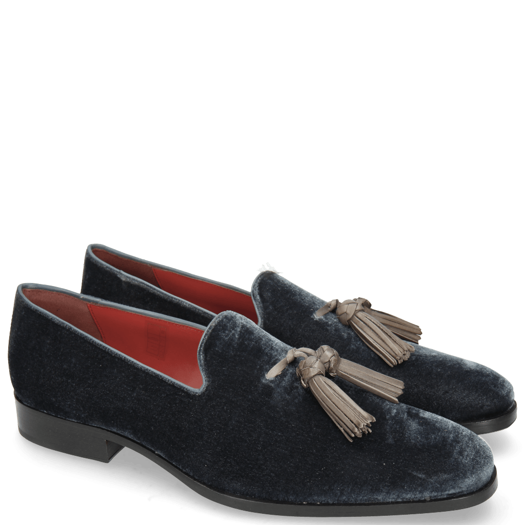 Loafers Prince 8 Velluto Stone