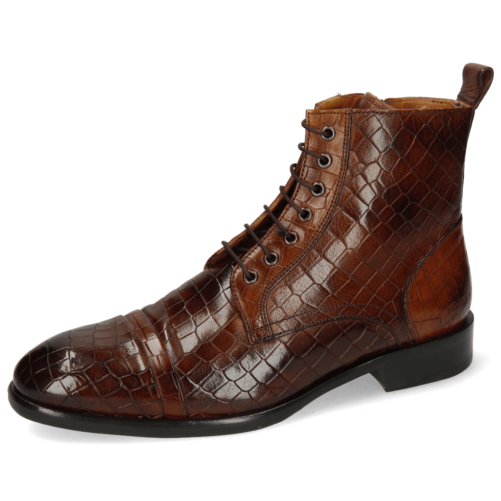 Stiefeletten Patrick 28 Crock Mid Brown Wood