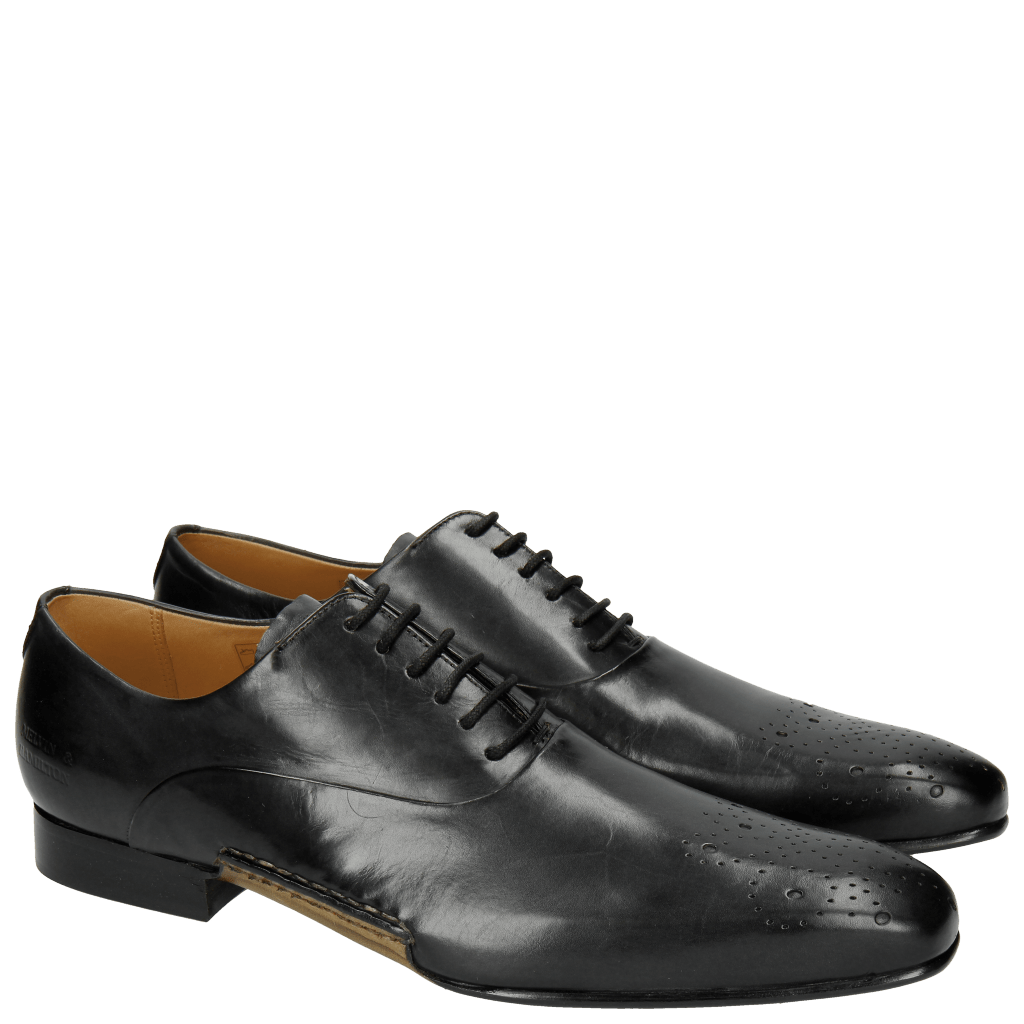Oxford Schuhe Ethan 23 Black Opanka