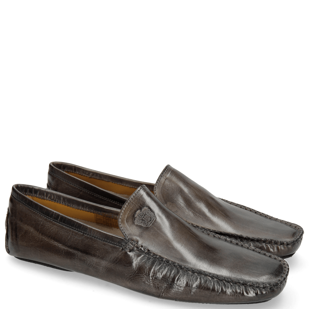 Loafers Home 1 Grigio Split Black