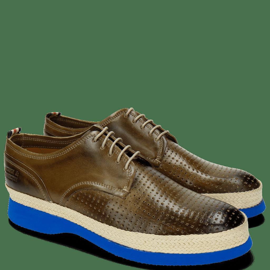 Derby Schuhe Elia 1 Perfo Square Oxygen