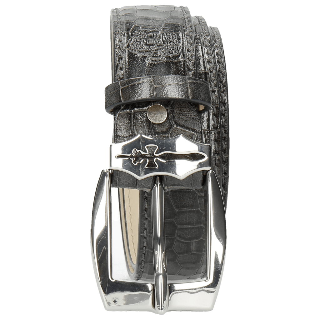 Gürtel Larry 1 Crock Grigio Sword Buckle