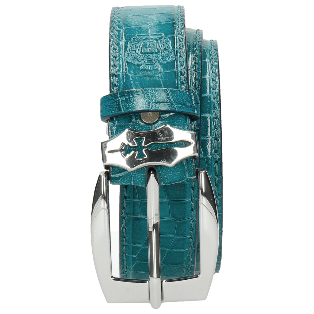 Gürtel Larry 1 Crock Turquoise Sword Buckle