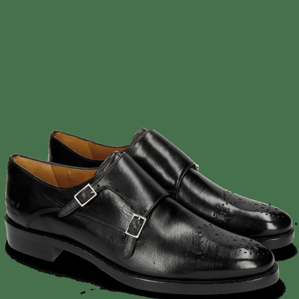 Monk Schuhe Betty 9  Black