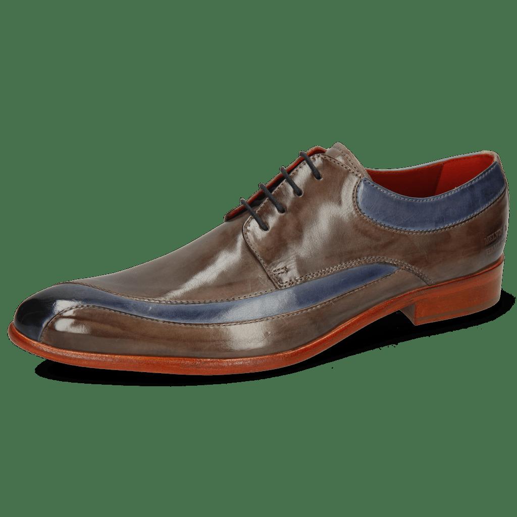 Derby Schuhe Toni 36 Moroccan Blue Stone