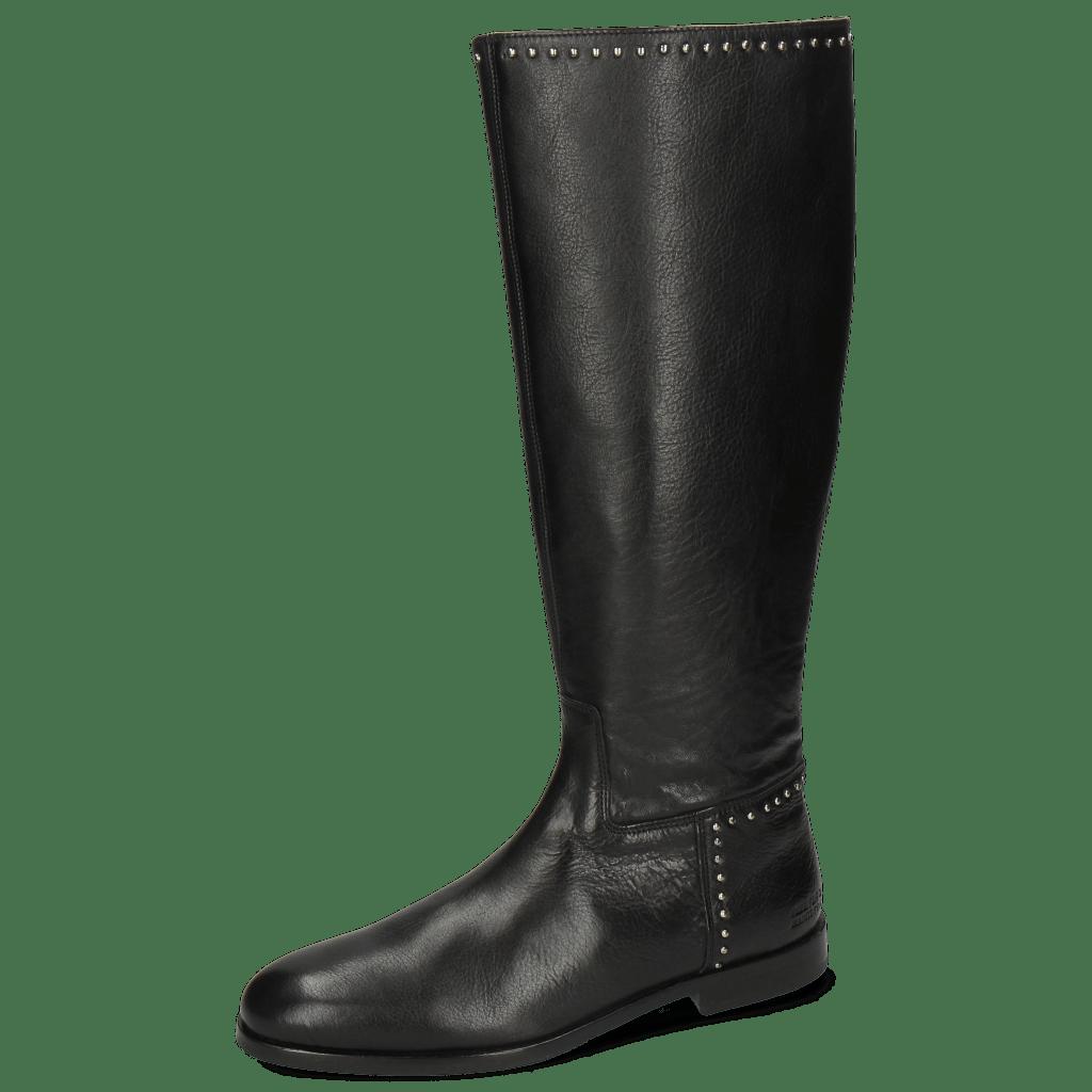 Stiefel Susan 53 Imola Black Rivets