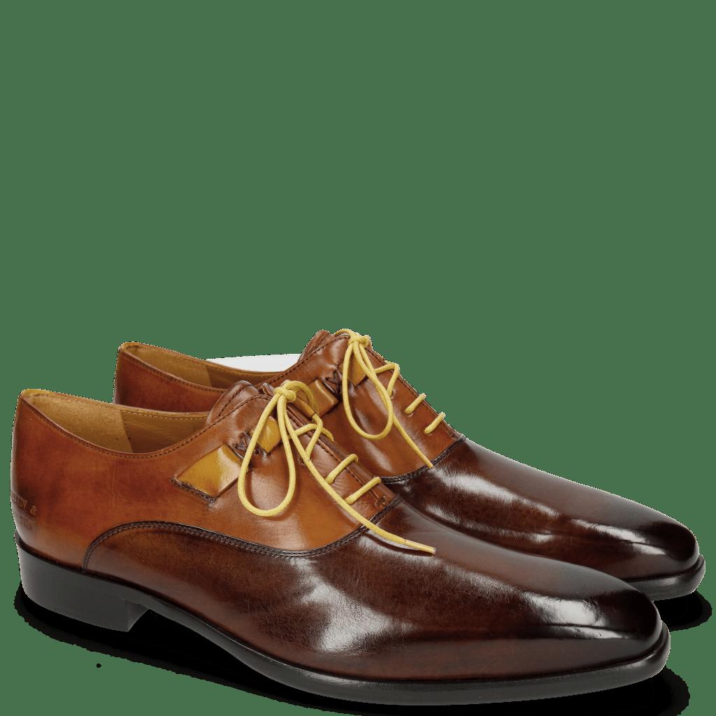 Oxford Schuhe Lance 42 Mid Brown