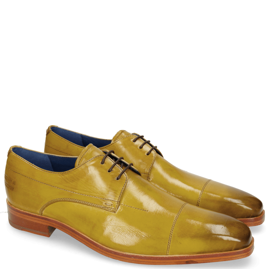 Derby Schuhe Lewis 8 Sol Lining Electric Blue