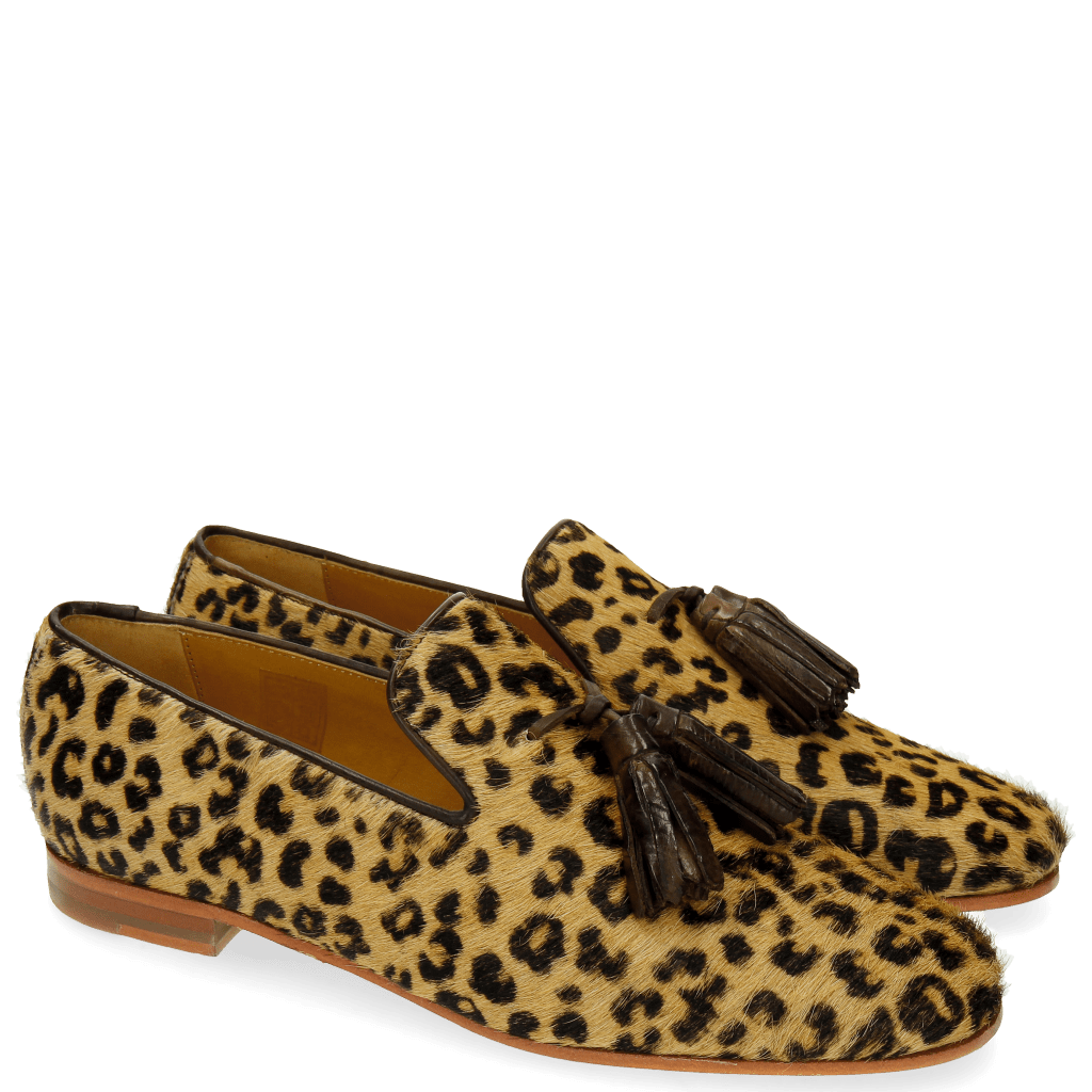 Loafers Scarlett 20 Hair On Leo Beige