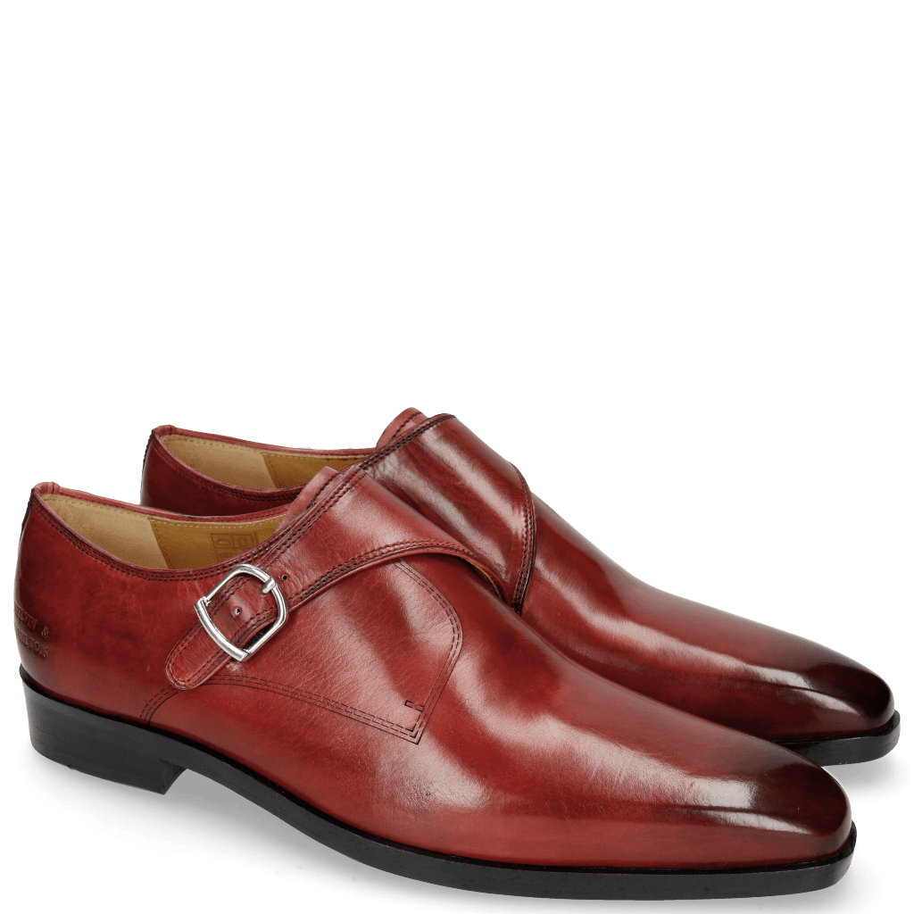 Monk Schuhe Lewis 39 Ruby