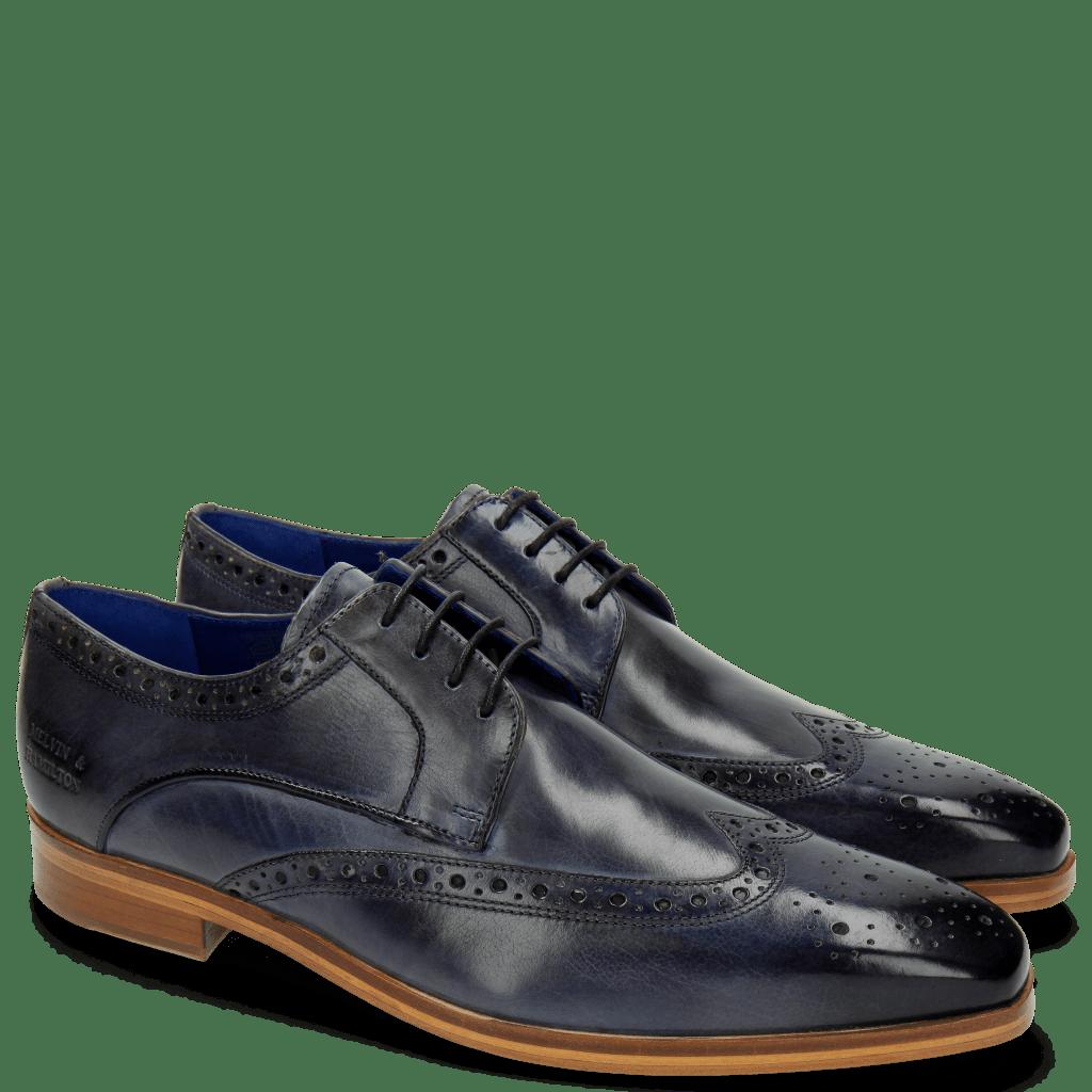 Derby Schuhe Lewis 3 Moroccan Blue