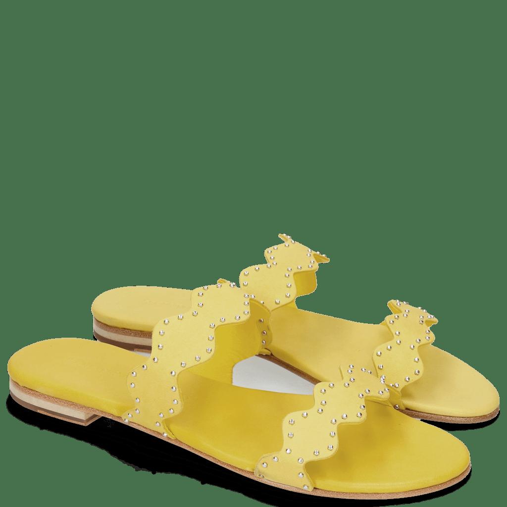 Pantoletten Hanna 45 Hanna 45 Verona Yellow