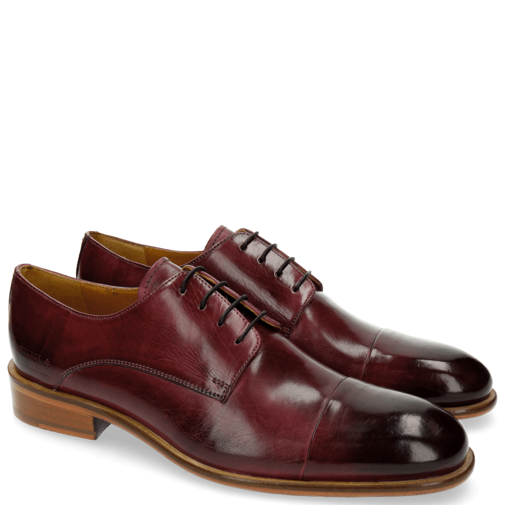 Derby Schuhe Patrick 6 Viola