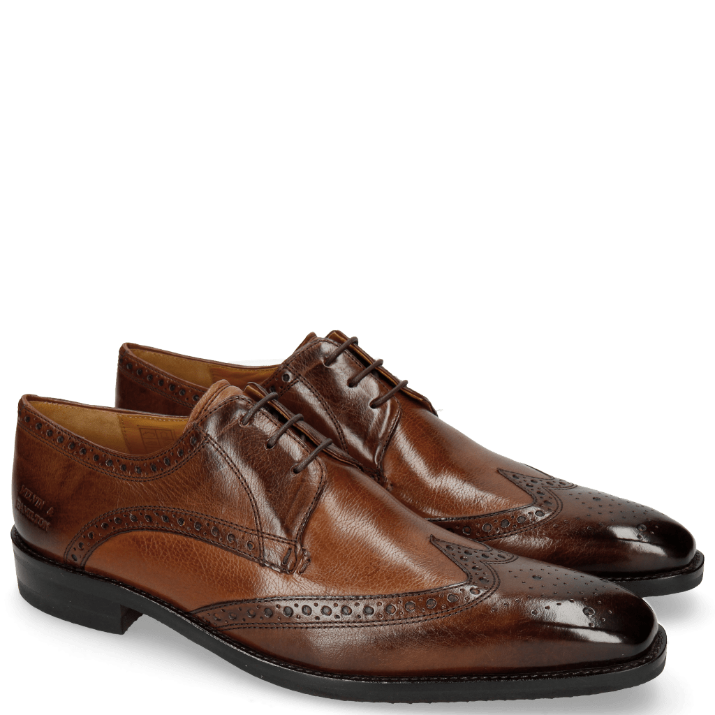 Derby Schuhe Freddy 2 Remo Mid Brown