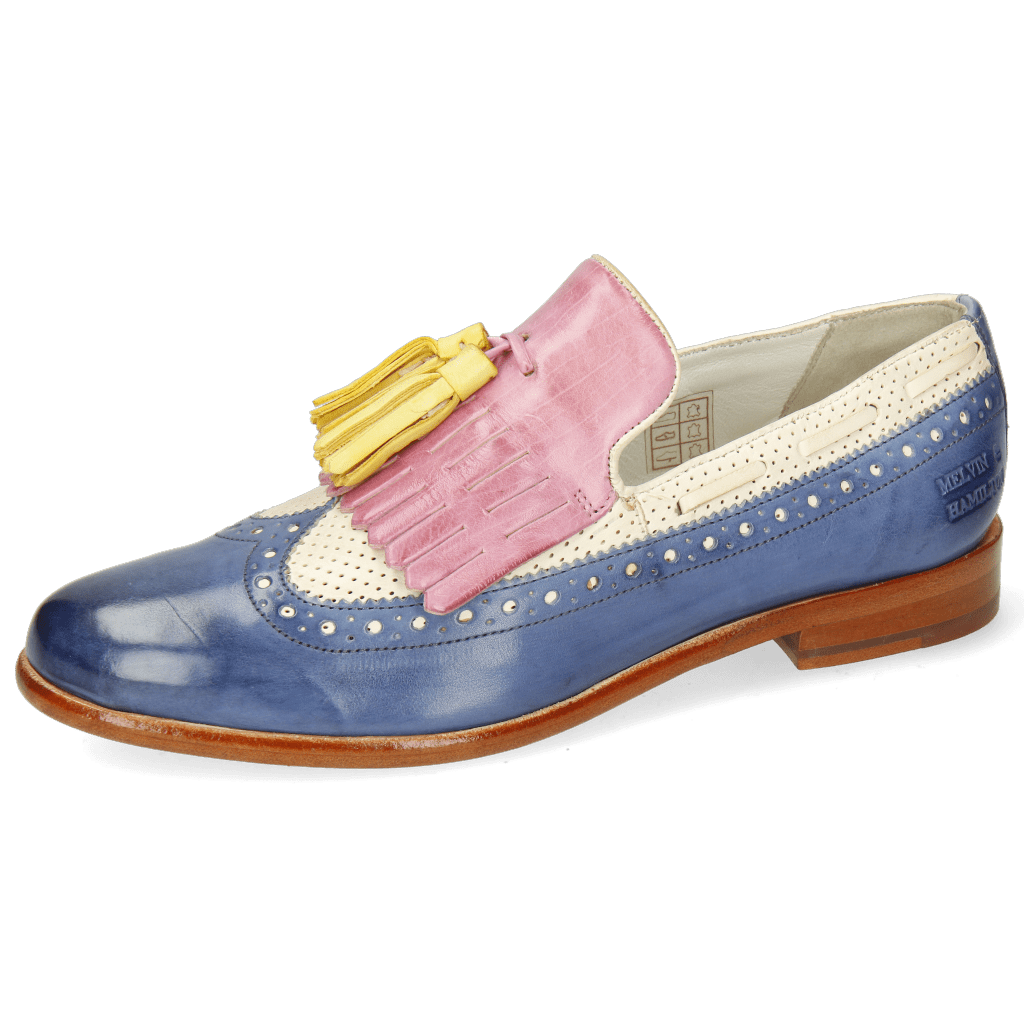 Loafers Selina 3 Imola Wind Perfo White Lilac Wind