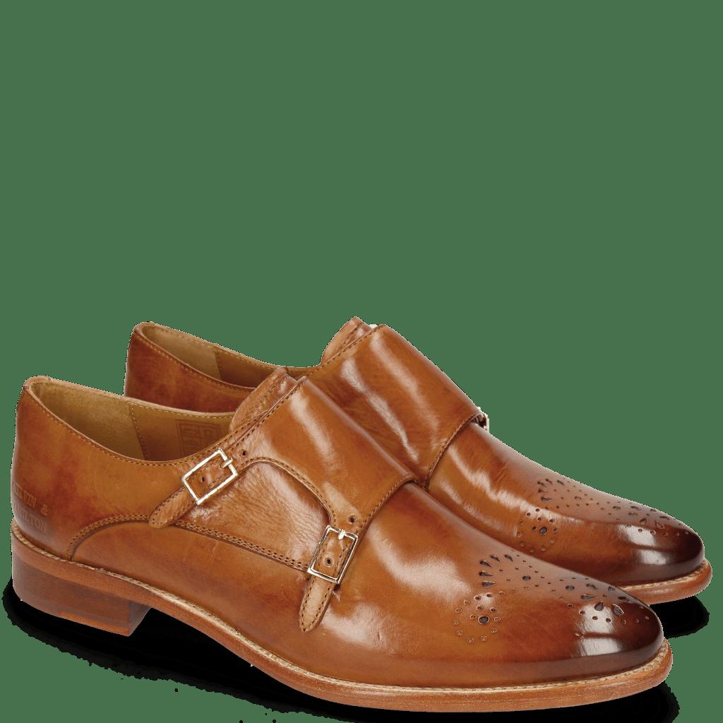 Monk Schuhe Betty 9 Tan Lining Rich Tan Flex