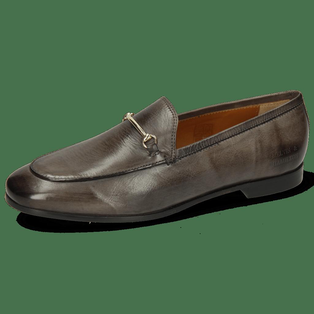 Loafers Scarlett 22 Pisa Grigio Trim Gold
