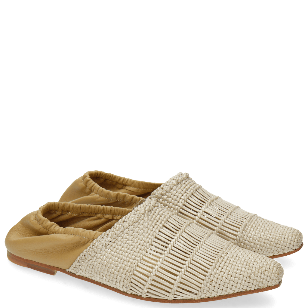 Loafers Joolie 12 Mesh Nappa Pearlized Cashmere
